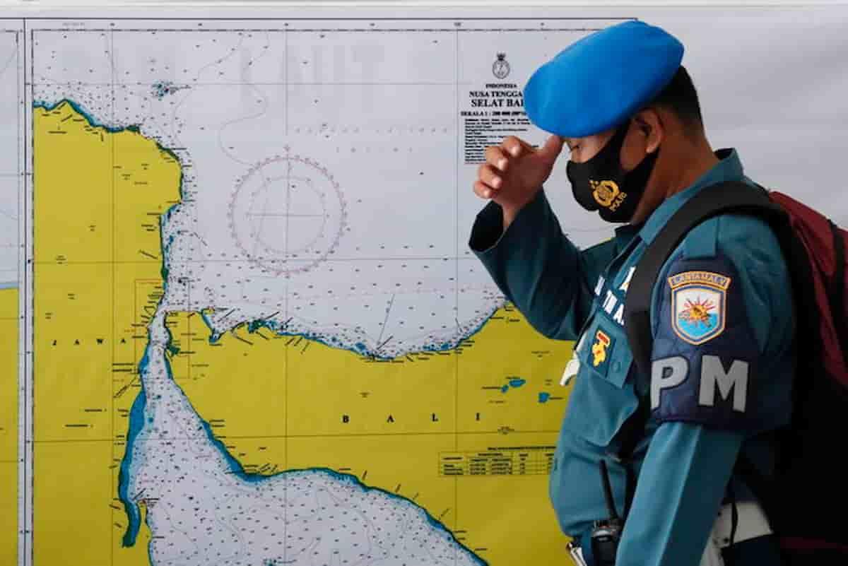 Indonesia sottomarino affondato