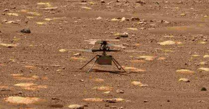 Marte, Ingenuity vola: il drone-elicottero della Nasa ha volato per la prima volta sul pianeta rosso