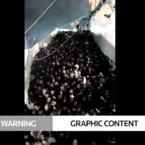 Israele, il VIDEO del pellegrinaggio strage sul monte Meron. La folla spinge, calpestati anche i bambini