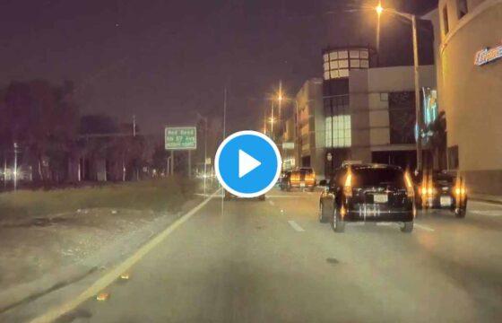 Meteorite in Florida: il video di un automobilista di Miami, la palla di fuoco squarcia il cielo stellato