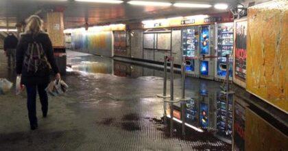 metro roma foto ansa