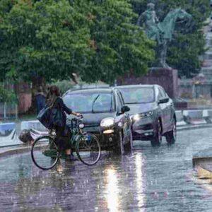pioggia foto ansa