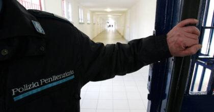 polizia penitenziaria, foto ansa