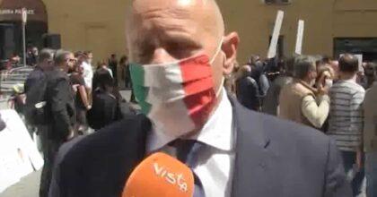 """Fabio Rampelli (FdI) sul Recovery Plan: """"Per Roma 500 milioni, è solo carità"""". E attacca Draghi e Raggi VIDEO"""