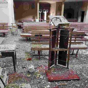 Terremoto l'Aquila, a San Demetrio Ne' Vestini chiesa del '600 ricoperta di guano. A 12 anni nessuna chiesa ricostruita