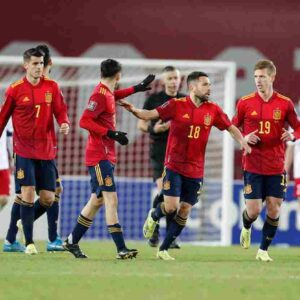 nazionale spagnola, foto ansa