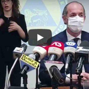 zaia, conferenza stampa