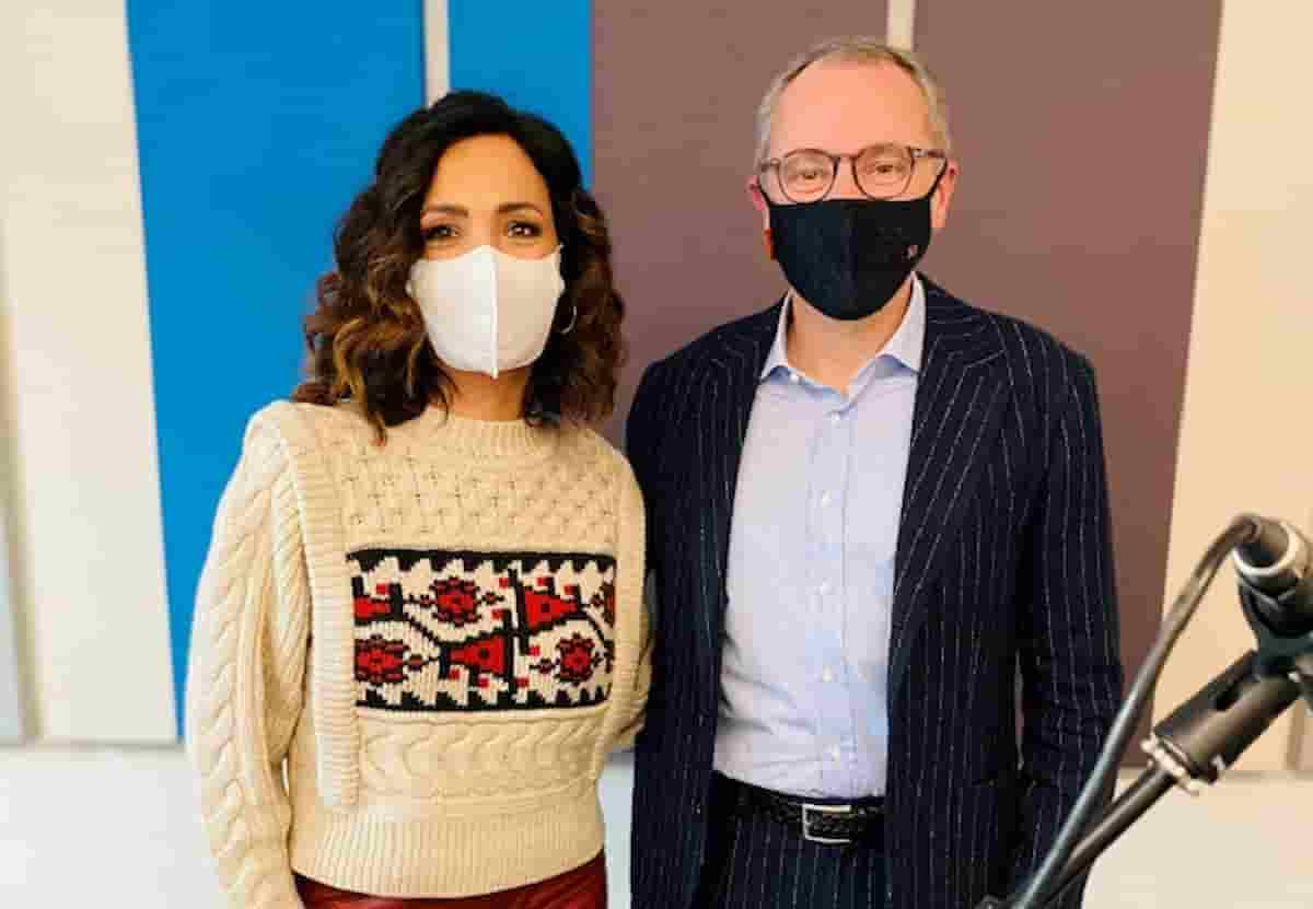 Stefano Domenicali ospite di Caterina Balivo a Ricomincio dal No: nuova puntata da lunedì 17 maggio
