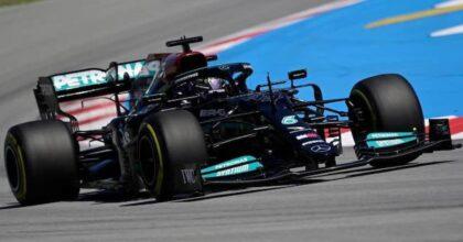 GP diSpagna, Formula 1. Trionfa Lewis Hamilton con una gara pazzesca. Ferrari al quarto e settimo posto