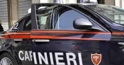 Airola senza mascherina carabinieri