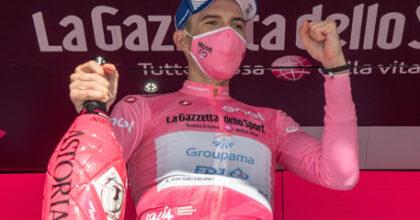Giro d'Italia, sesta tappa, vince lo svizzero Gino Mader, maglia rosa all'ungherese Attila Valter