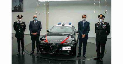 Nuova Giulia dei Carabinieri per il Nucleo Radiomobile: il nuovo modello dell'Alfa Romeo