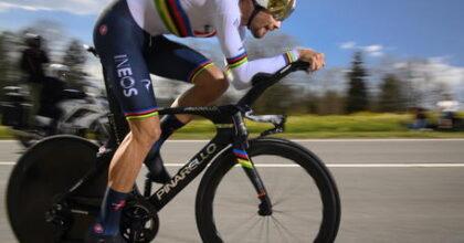 Giro d'Italia. Partenza col botto. Doppietta italiana: primo Ganna, secondo Affini. I 9 km della cronometro di Torino dominati dagli azzurri