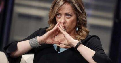 """Verissimo, Giorgia Meloni in lacrime: """"Gli haters mi hanno anche augurato di abortire"""""""
