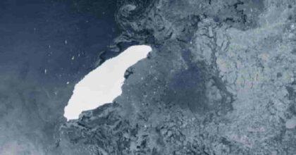 Iceberg più grosso del mondo si è staccato dall'Antartide: è più grande dell'isola di Maiorca