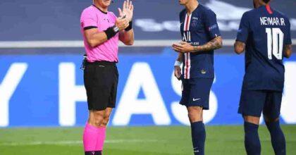 """Verratti contro l'arbitro Kuipers dopo Manchester City-Psg: """"Mi ha detto fanculo, a me avrebbero dato 10 giornate"""""""