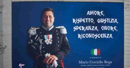 """Rosa Maria Esilio, moglie di Cerciello Rega, dopo la sentenza: """"Messe a tacere le illazioni su Mario"""""""