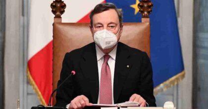 Draghi e il ce ne andiamo dopo Natale. L'ha detto? Lo pensa? Con pensioni a 62 anni e scuola ai precari...