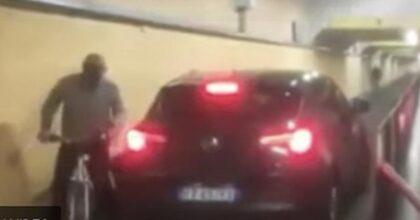 Mestre, automobilista segue il navigatore e si ritrova nel sottopasso pedonale della stazione VIDEO YOUTUBE