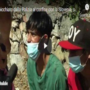 Uomo picchiato dalla Polizia al confine con la Slovenia, i giudici: si era inventato tutto VIDEO