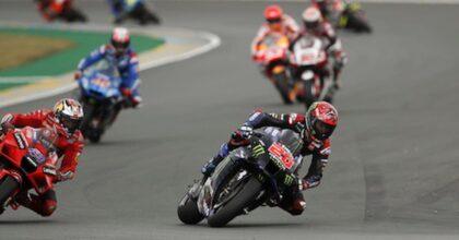 MotoGP, trionfo Ducatia Le Mans nel diluvio. Primo Jack Miller, secondo Zarco con Ducati Prama, Bagnaia quarto