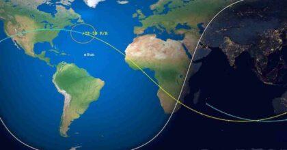 Lo stadio del razzo cinese Lunga Marcia 5B è in caduta incontrollata verso la Terra, nel 2020 i frammenti erano caduti su alcuni villaggi dell'Africa occidentale razzo