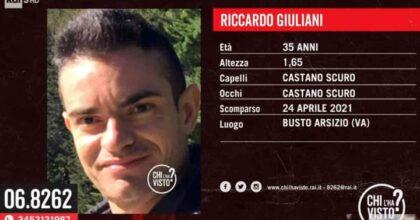 Riccardo Giuliani scomparso