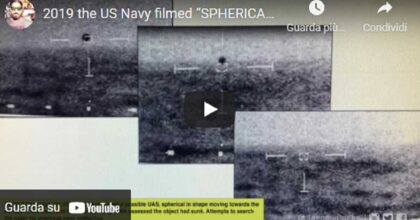 Ufo segue nave Usa e poi si inabissa all'improvviso. Pentagono conferma: video girato a bordo dell'USS Omaha VIDEO
