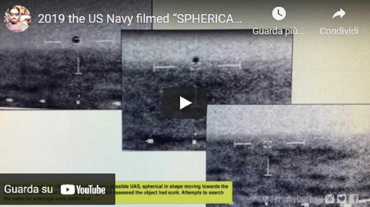 Ufo segue nave Usa e poi si inabissa all'improvviso. Pentagono conferma: video girato a bordo dell'USS Omaha VIDEO