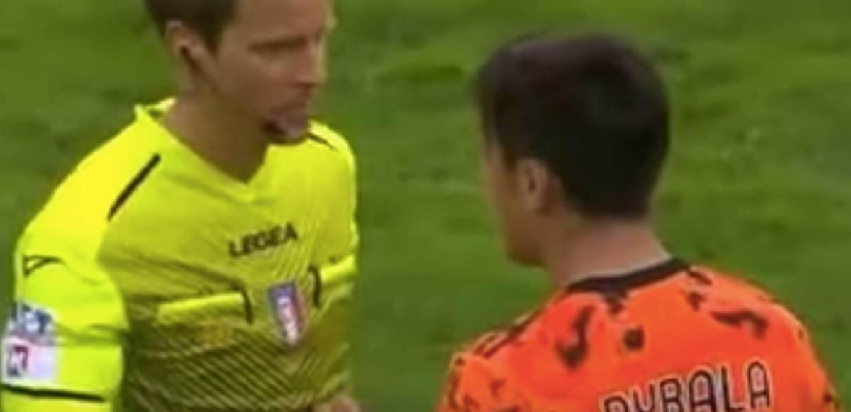 """Udinese-Juventus, insulti ad arbitro Chiffi: """"Vai a cacare, sei un raccomandato"""". Poi Paratici e gli altri dirigenti bianconeri hanno accerchiato l'arbitro VIDEO video"""