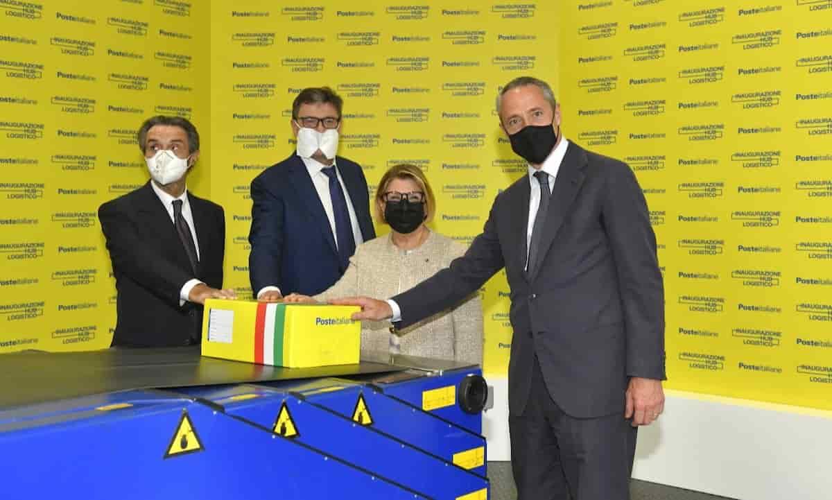 Poste Italiane inaugura a Landriano (Pavia) il più grande hub in Italia per l'e-commerce