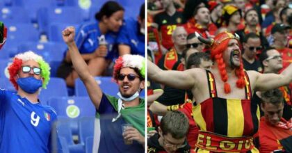 Belgio-Italia e il coro Seven Nation Army: da noi diventò Popopo, ma già prima del 2006...