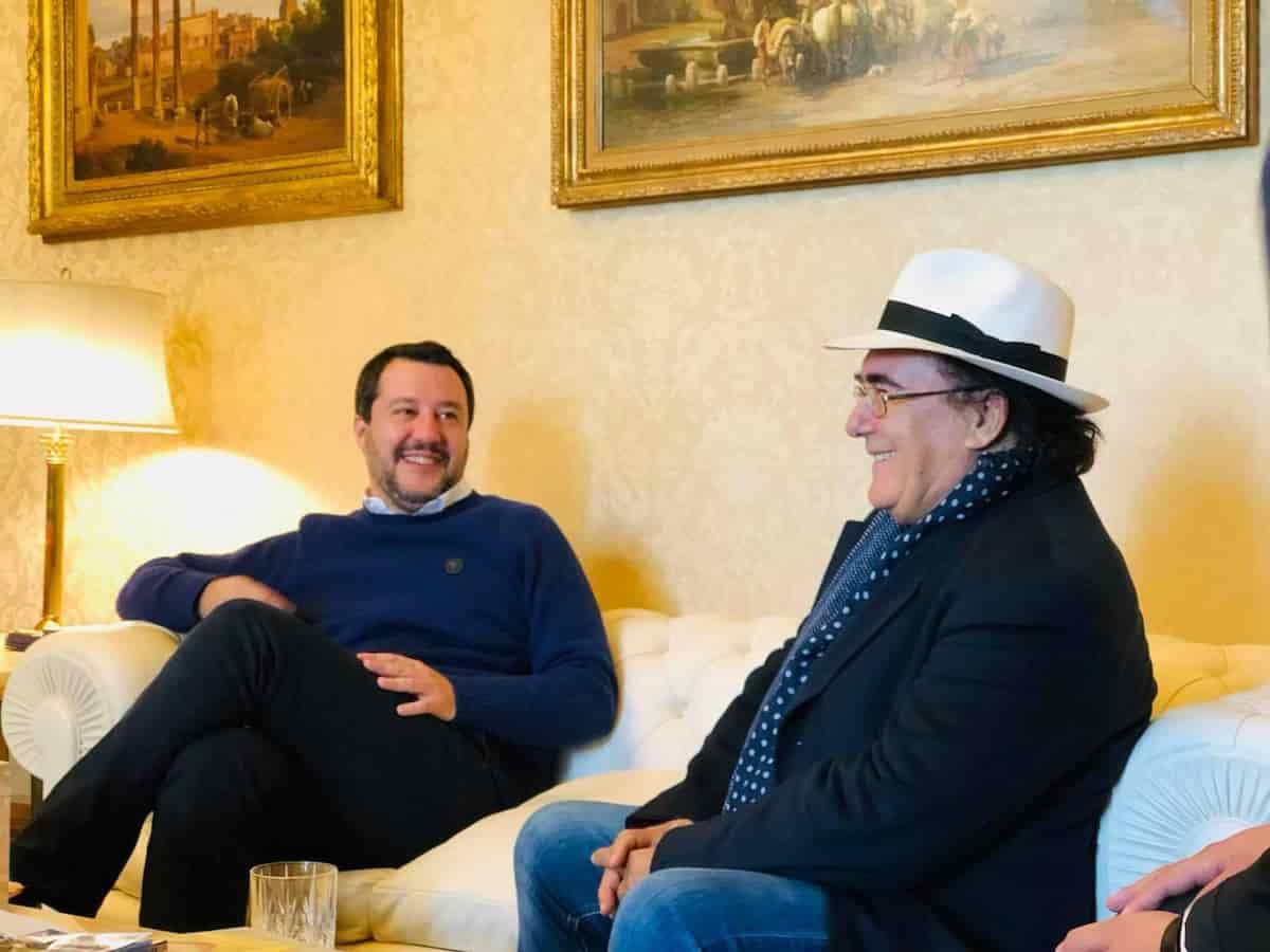 Al Bano Matteo Salvini