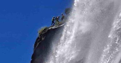 Incidente cascate Acquafraggia: donna precipita e muore, forse voleva scattare una foto proibita