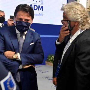 Beppe Grillo risposta a Conte