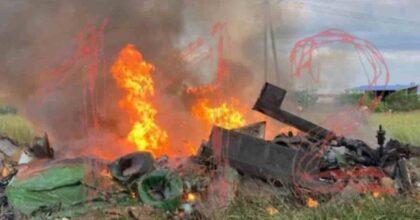 Elicottero militare precipita in Russia, vicino a San Pietroburgo, a Gatchina: tre morti, nessun sopravvissuto VIDEO