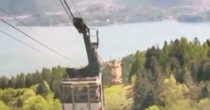 Mottarone, al Tg3 il video inedito dell'incidente in funivia: la cabina si impenna e torna indietro, fino allo schianto