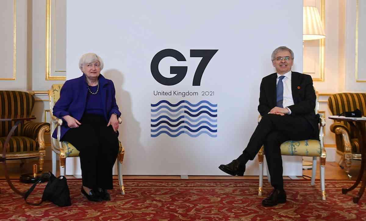g7 united kingdom, foto ansa