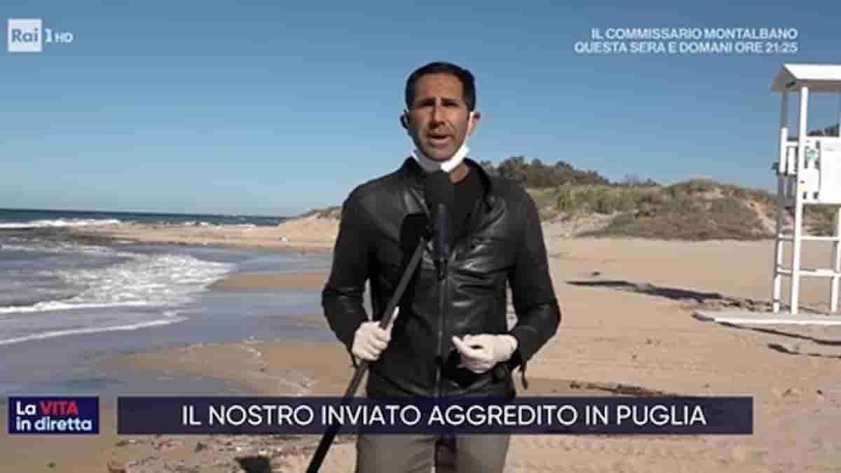 Giuseppe Di Tommaso, il giornalista de La Vita in Diretta eroe per caso: ha trovato il piccolo Nicola al Mugello