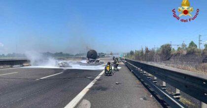 Incidente A1 Fiorenzuola (Piacenza): scontro tra due camion nello stesso tratto di ieri, un morto