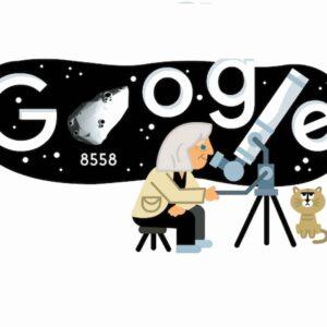 Margherita Hack, il Doodle di Google per i 99 anni dell'astrofisica