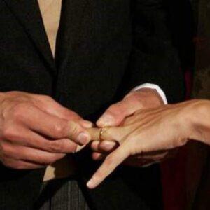 matrimonio foto ansa