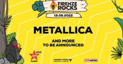 Concerto dei Metallica al Firenze Rock 2022: data, biglietti, prevendite e dove comprarli