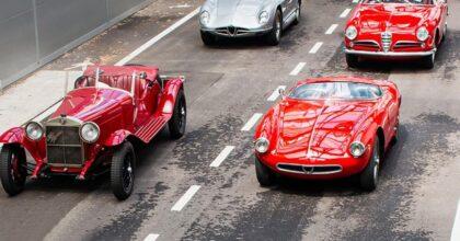 Mille Miglia, il 16 giugno da Brescia 4 tappe, 1.600 km sulle strade d'Italia 375 auto storiche