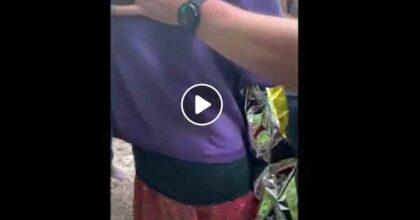 Nicola Tanturli, il VIDEO del salvataggio del bimbo ritrovato al Mugello e l'abbraccio con la mamma