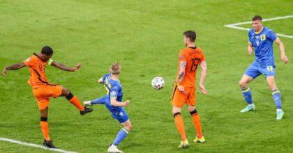 Olanda-Ucraina gol e record Europeo: mai c'erano state 5 reti nel secondo tempo VIDEO