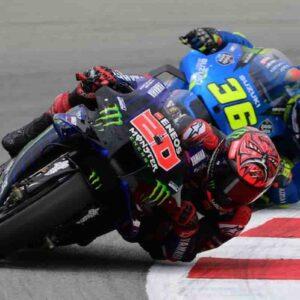 MotoGP di Germania, Circuito di Sachsering, domenica 20 giugno ore 14.00, tutti contro Fabio Quartararo (nella foto)