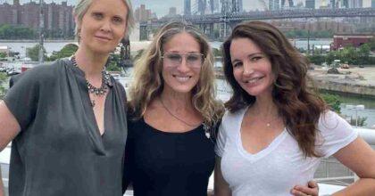 Sex and the city, Sarah Jessica Parker posta la foto della reunion. Manca Samantha