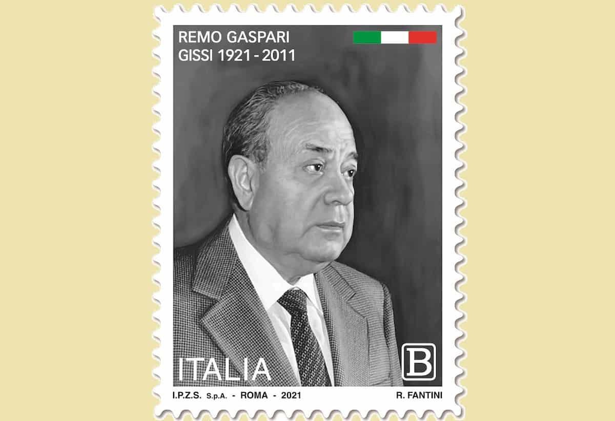francobollo Remo Gaspari
