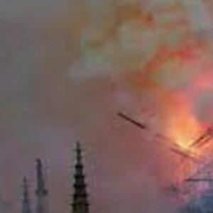 Parigi, violento incendio tra ambasciata d'Italia e hotel Matignon: nessun danno a persone o cose